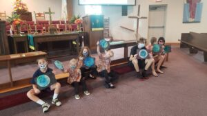 1st day of Sunday school 2021, 1st days of creation, earth craft
